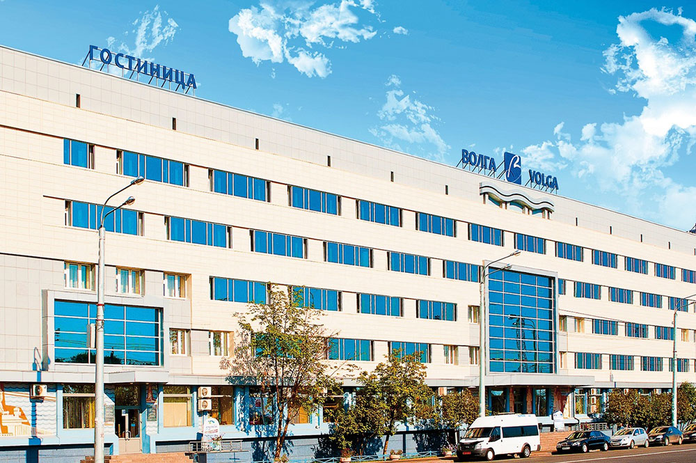 Гостиница Волга Поставка оборудования для прачечной и полная модернизация и обновление прачки оборудованием марки Danube (Франция)