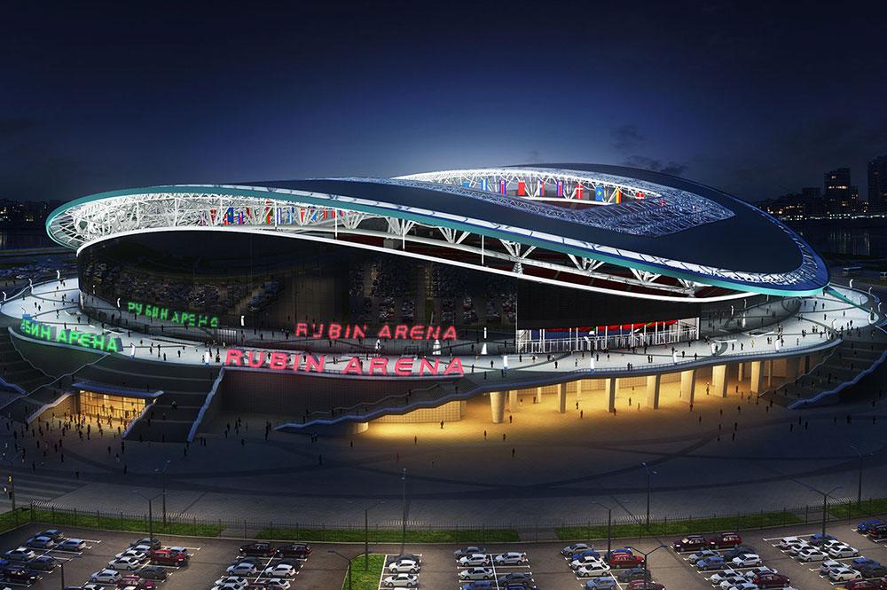 Стадион Казань Арена  Оборудование для уборки территории